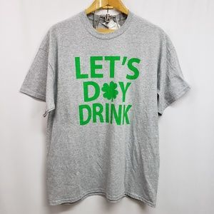 Other - St Patrick's Day Graphic Tee Lg/XL NWT